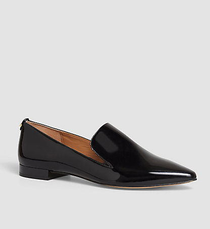 CALVIN KLEIN Leather Loafers - Elin 00000E2235BLK