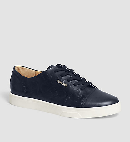CALVIN KLEIN Leather Sneakers - Imilia 00000E2812DPY
