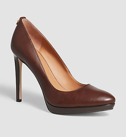 CALVIN KLEIN Leather Pumps - Suzzanne 00000E2980CFB