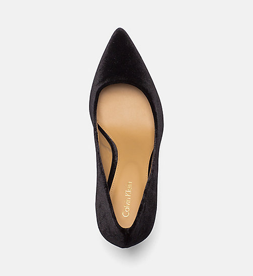 CALVINKLEIN Samt-Pumps - BLACK - CALVIN KLEIN HIGH-HEELS - main image 1