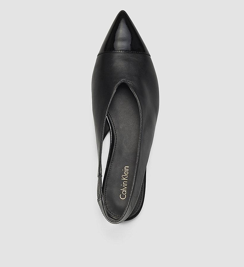 black black calvin klein shoes accessories detail image 1. Black Bedroom Furniture Sets. Home Design Ideas