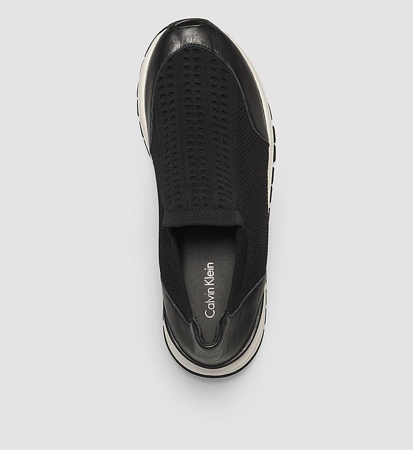 CALVINKLEIN Slip-On Shoes - BLACK/BLACK - CALVIN KLEIN SHOES & ACCESSORIES - detail image 1