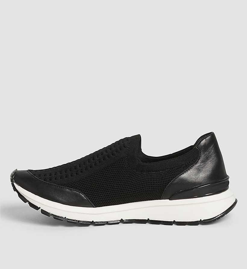 CALVINKLEIN Slip-On Shoes - BLACK/BLACK - CALVIN KLEIN SHOES & ACCESSORIES - detail image 2
