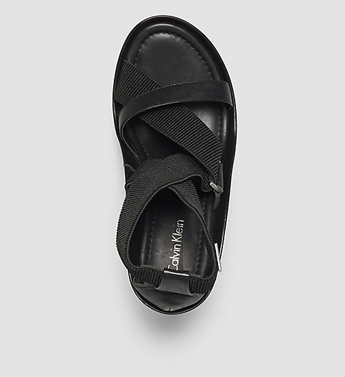 CALVINKLEIN Sandals - BLACK/BLACK - CALVIN KLEIN SHOES & ACCESSORIES - detail image 1