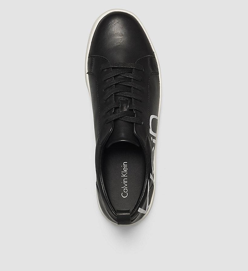 leather sneakers calvin klein 00000e4835. Black Bedroom Furniture Sets. Home Design Ideas