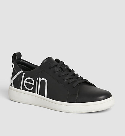 CALVIN KLEIN Leather Sneakers 00000E4835BWY