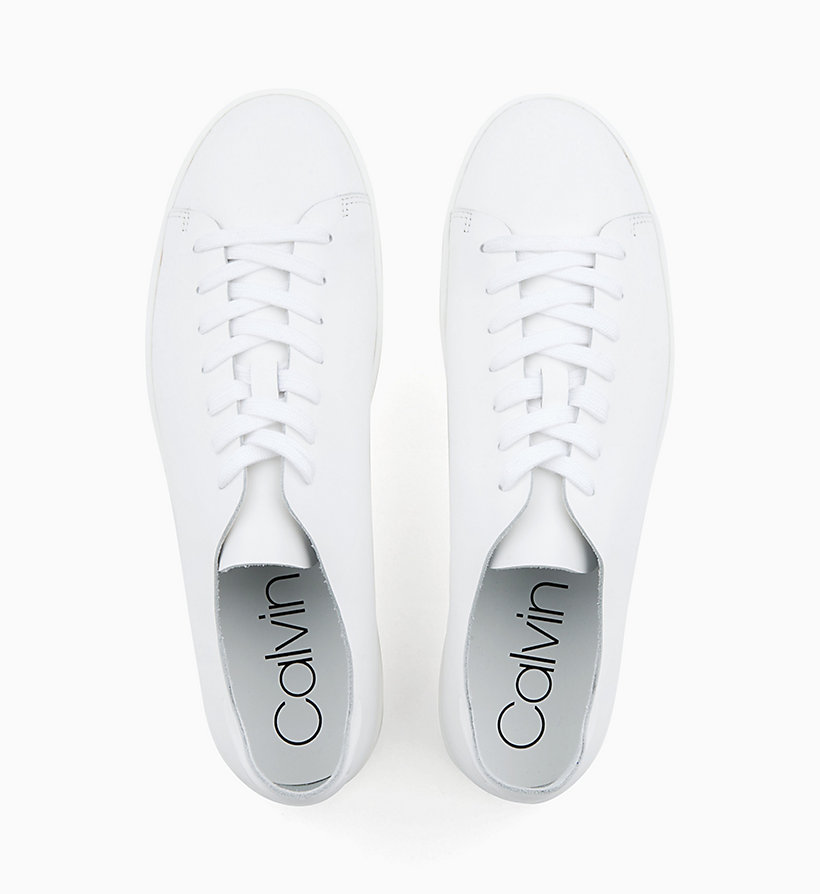 Calvin Klein - Leather Trainers - 4