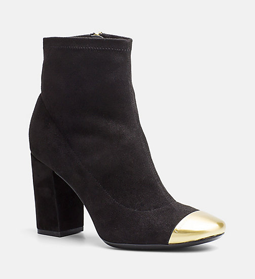 CALVINKLEIN Zip Ankle Boots - BLACK - CALVIN KLEIN ANKLE BOOTS - main image