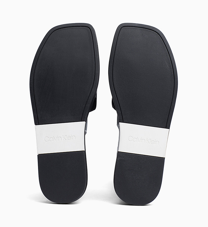 Calvin Klein - Leather Sliders - 5