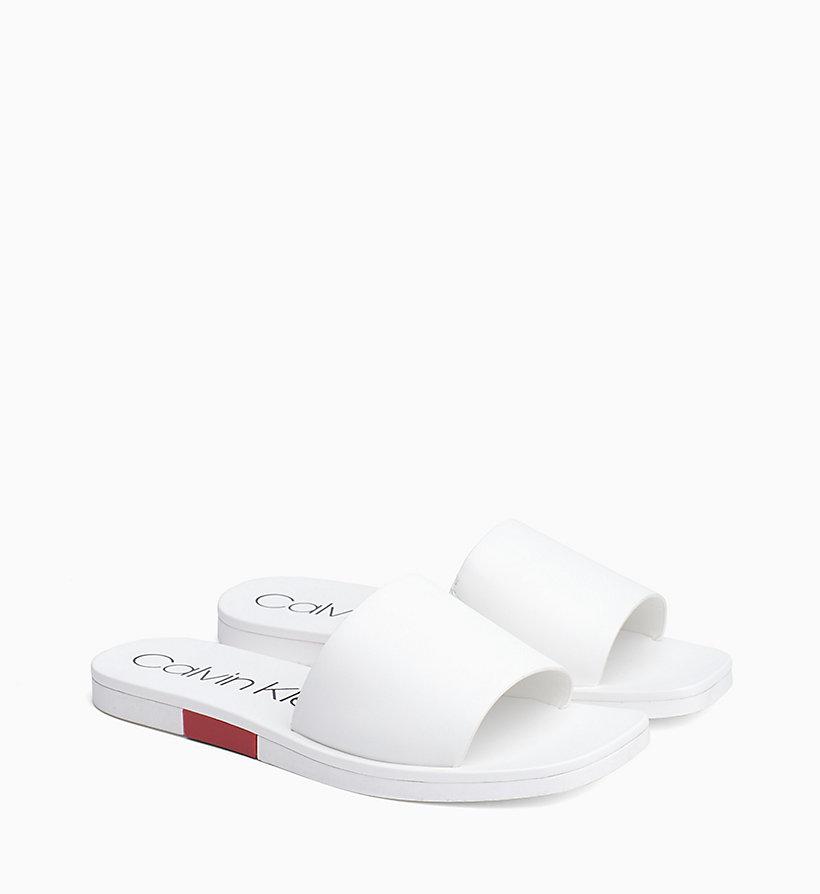 Calvin Klein - Leather Sliders - 2