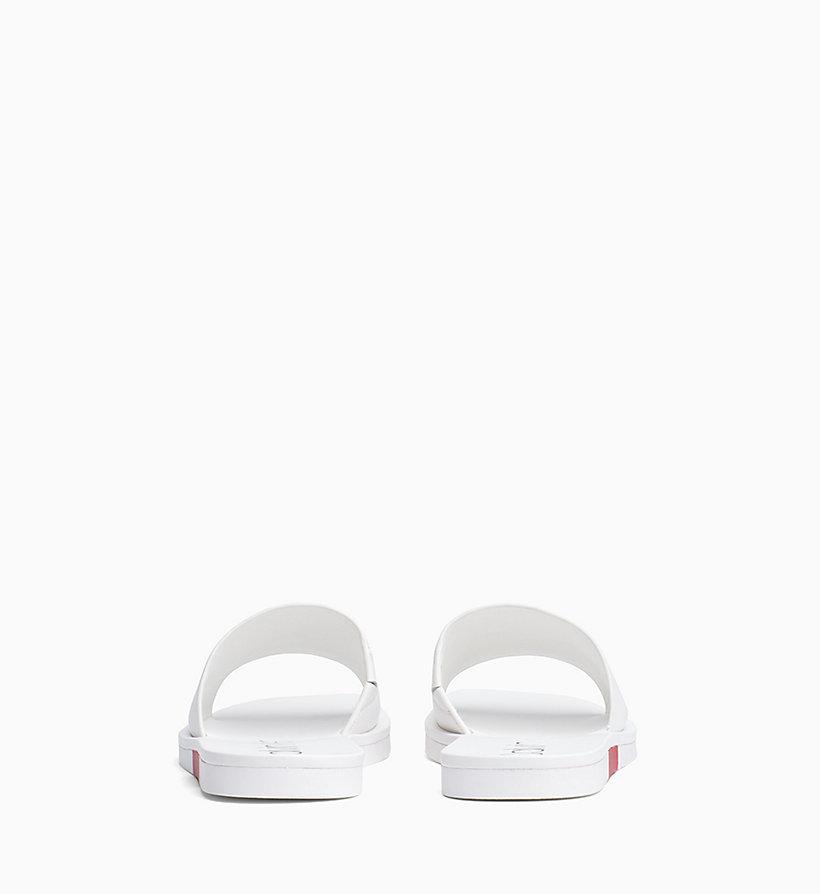 Calvin Klein - Leather Sliders - 3