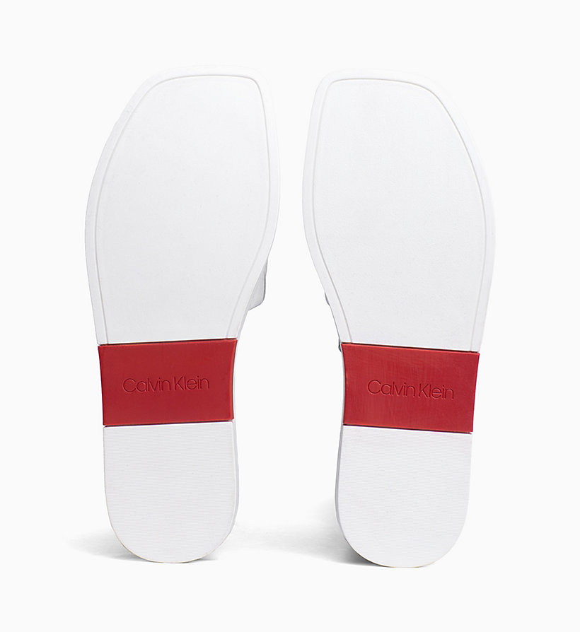 Calvin Klein - Leather Sliders - 5