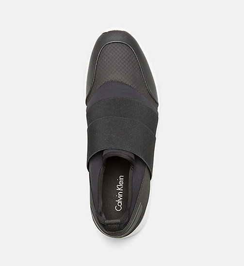CALVINKLEIN Slip-On Sneakers - BLACK - CALVIN KLEIN TRAINERS - detail image 1