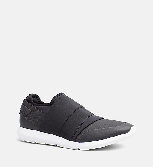 CALVINKLEIN Slip-On Sneakers - BLACK - CALVIN KLEIN TRAINERS - main image