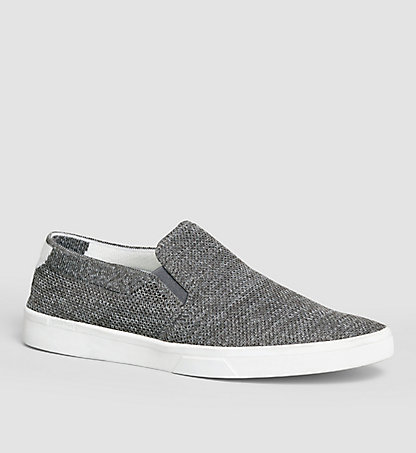 CALVIN KLEIN Slip-On Shoes - Ives 00000F0846GRY