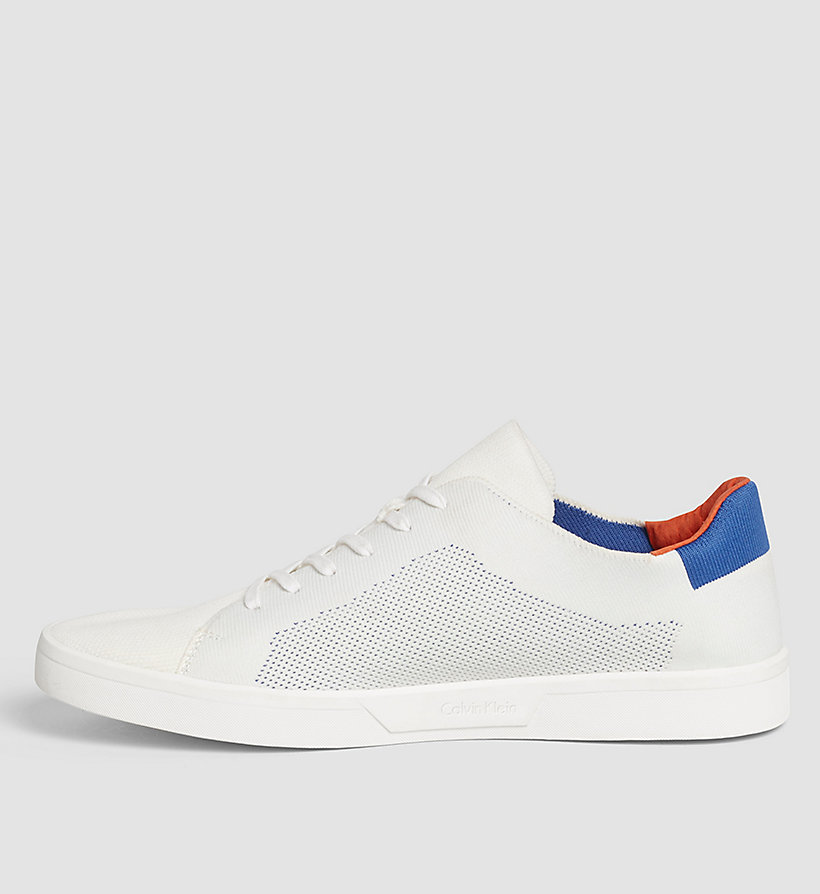 CALVINKLEIN Sneakers - WHITE/WHITE/BRAVE BLUE - CALVIN KLEIN SHOES & ACCESSORIES - detail image 2
