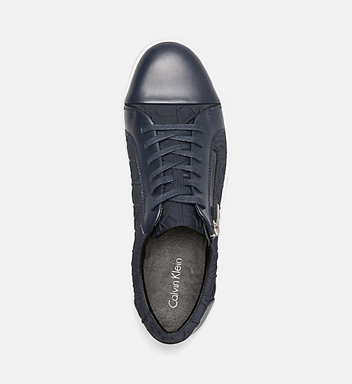 CALVINKLEIN Logo Sneakers - DARK NAVY - CALVIN KLEIN SHOES & ACCESSORIES - detail image 1