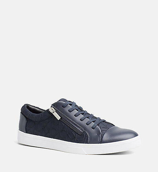 CALVINKLEIN Logo Sneakers - DARK NAVY - CALVIN KLEIN SHOES & ACCESSORIES - main image
