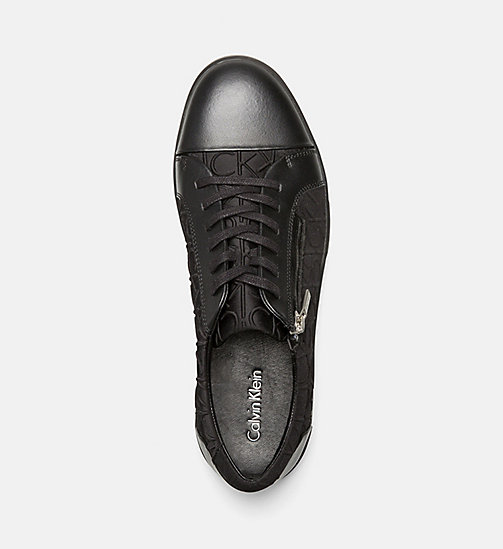 CALVINKLEIN Logo Sneakers - BLACK/BLACK - CALVIN KLEIN SHOES & ACCESSORIES - detail image 1