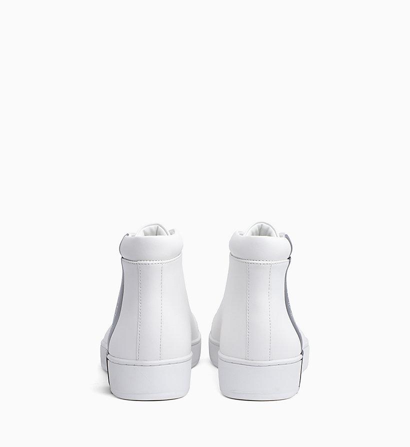Calvin Klein - High Top Sneakers aus Leder - 3