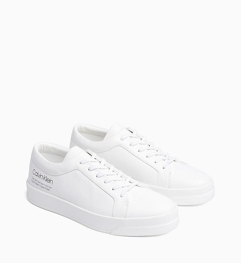 Calvin Klein - Sneakers aus Leder - 2