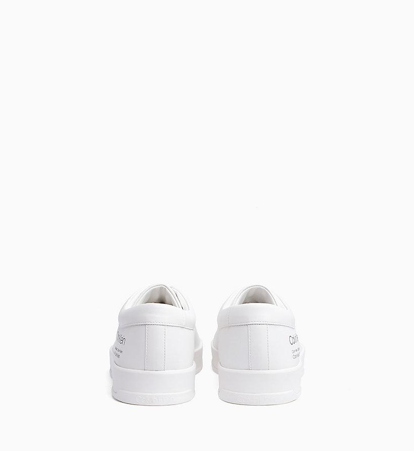Calvin Klein - Sneakers aus Leder - 3