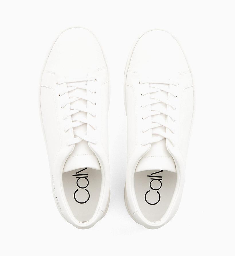 Calvin Klein - Sneakers aus Leder - 4
