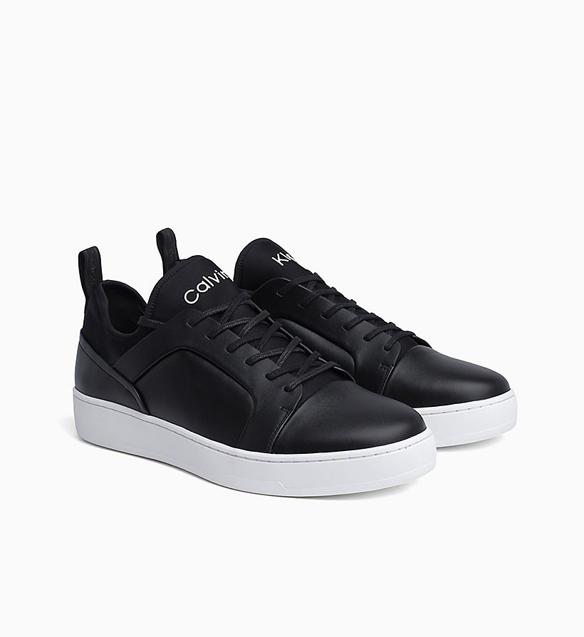 Calvin Klein - Leather Trainers - 2