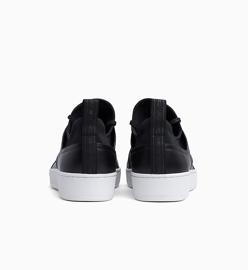 Calvin Klein - Leather Trainers - 3