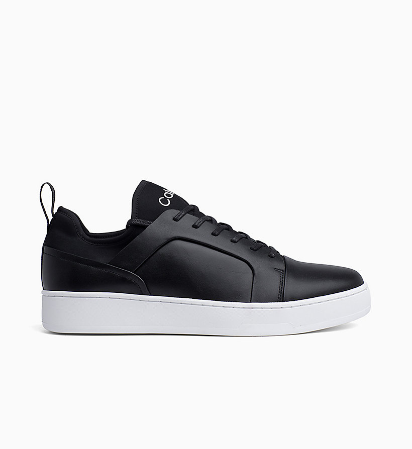 Calvin Klein - Leather Trainers - 1