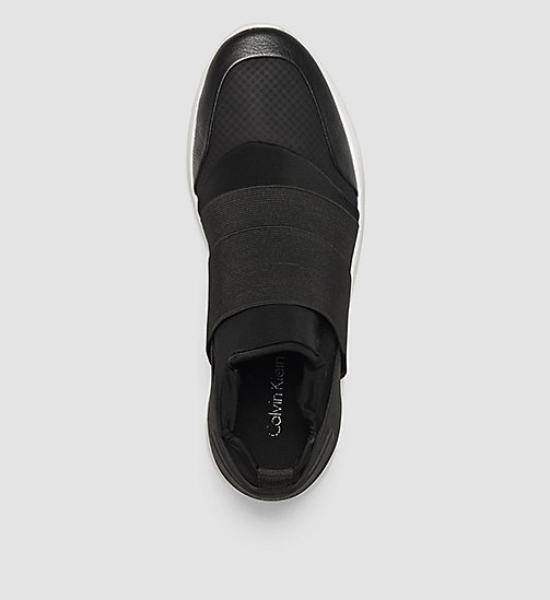 Slip-On Shoes - BLACK /  BLACK - CALVIN KLEIN SHOES & ACCESSORIES - detail image 1