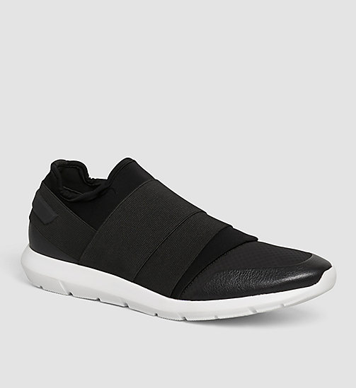 Slip-On Shoes - BLACK/BLACK - CALVIN KLEIN  - main image