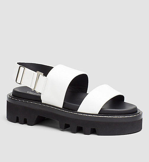 CKCOLLECTION Marli - BLACK/WHITE/BLACK - CK COLLECTION SANDALS - main image