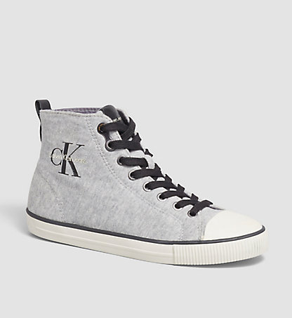 CALVIN KLEIN JEANS Chaussures à enfiler - Dolly 00000R3566GRY