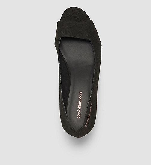 CKJEANS Canvas Pumps - BLACK /  BLACK - CK JEANS SANDALS - detail image 1