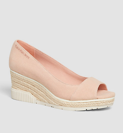 CALVIN KLEIN Pumps aus Canvas 00000R3744DSK