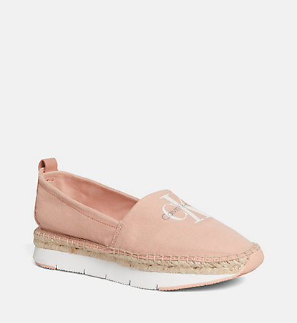CALVIN KLEIN Canvas Slip-On Shoes 00000R3768DSK