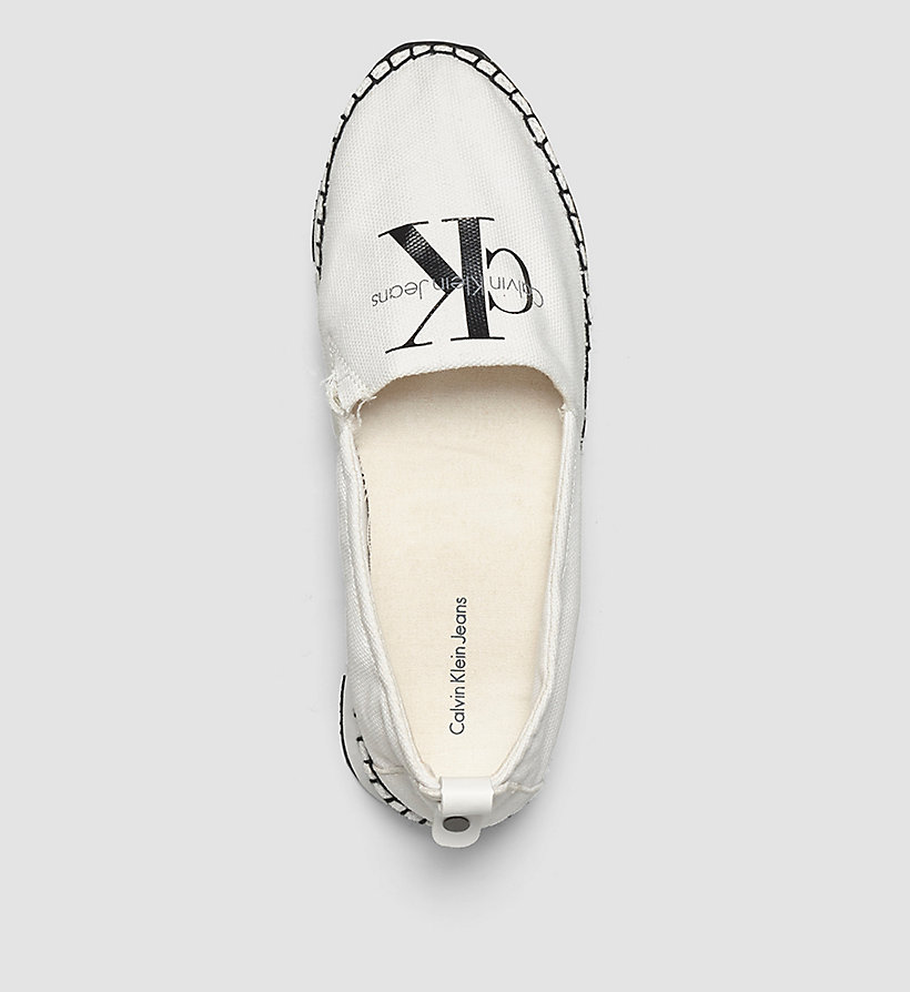 CKJEANS Canvas Slip-On Shoes - BLACK/WHITE - CK JEANS SHOES & ACCESSORIES - detail image 1