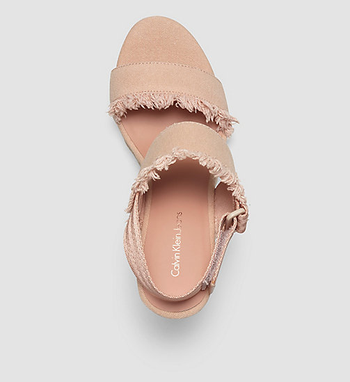 CKJEANS Canvas Sandals - PINK/DUSK - CK JEANS SHOES - detail image 1
