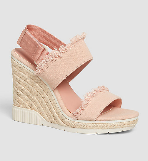 CKJEANS Canvas Sandals - PINK/DUSK - CK JEANS SHOES - main image