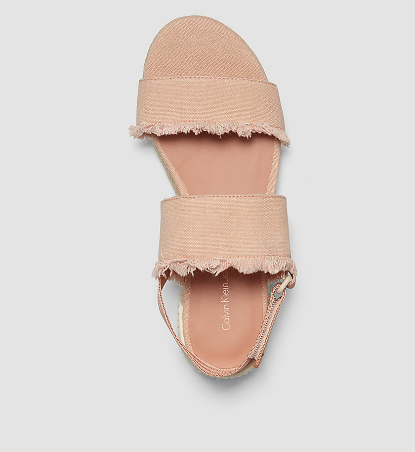CKJEANS Canvas Sandals - PINK/DUSK - CK JEANS SHOES & ACCESSORIES - detail image 1