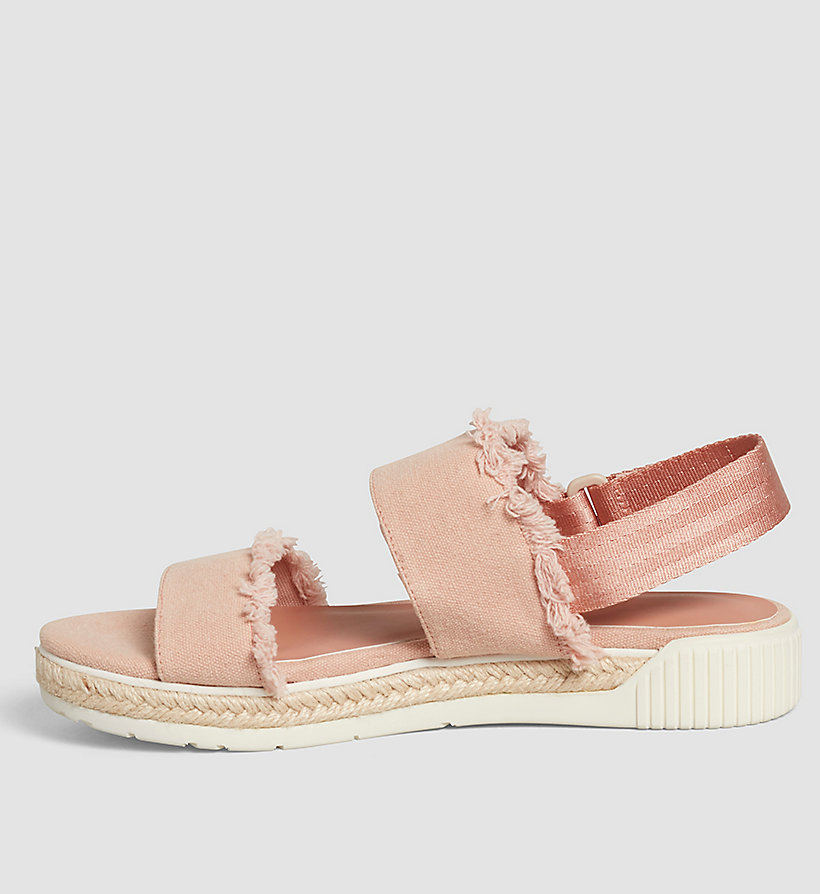 CKJEANS Canvas Sandals - PINK/DUSK - CK JEANS SHOES & ACCESSORIES - detail image 2