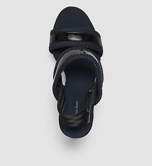 CKJEANS Sandals - WHITE/BLACK/INDIGO - CK JEANS SANDALS - detail image 1