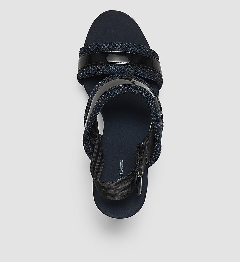 CKJEANS Sandals - WHITE/WHITE/BLACK - CK JEANS SHOES & ACCESSORIES - detail image 1