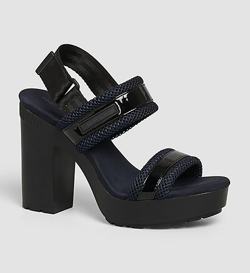 CKJEANS Sandals - WHITE/BLACK/INDIGO - CK JEANS SANDALS - main image