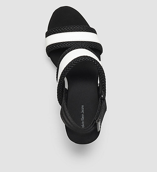 CKJEANS Sandals - WHITE/WHITE/BLACK - CK JEANS SANDALS - detail image 1