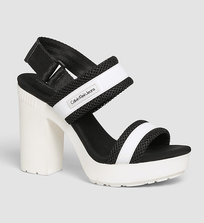 CKJEANS Sandals - WHITE/BLACK/INDIGO - CK JEANS SHOES & ACCESSORIES - main image