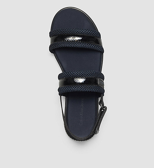 Sandals - BLACK/BLACK/INDIGO - CK JEANS SHOES & ACCESSORIES - detail image 1
