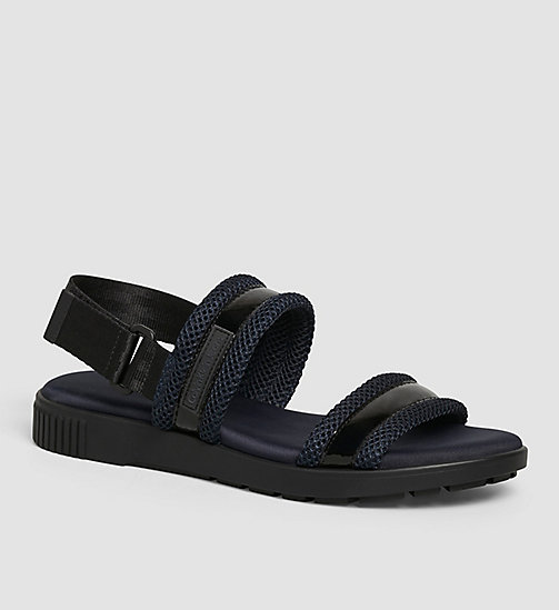 Sandals - BLACK/BLACK/INDIGO - CK JEANS SHOES & ACCESSORIES - main image