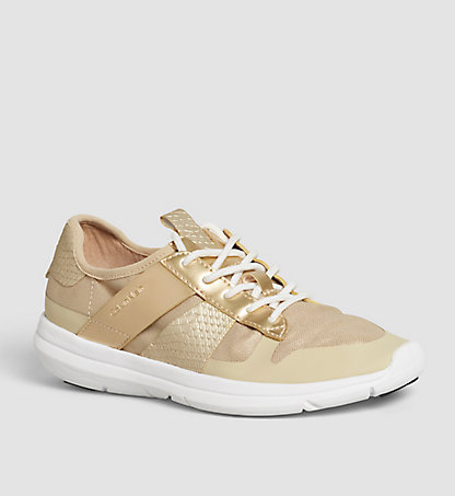 CALVIN KLEIN Sneakers 00000R4077GLD
